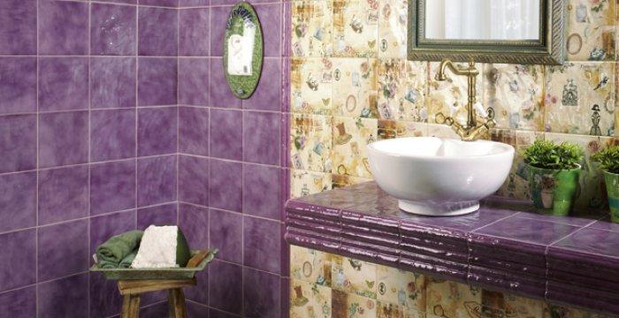Baño rústico 4