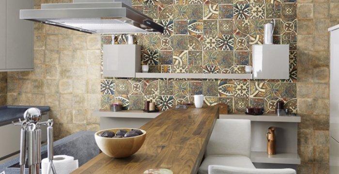 cocina decorada artesanal