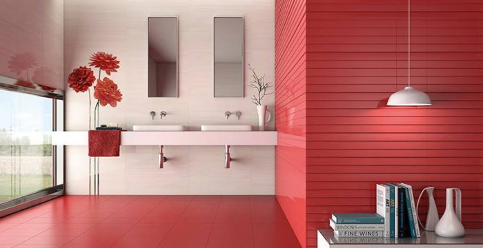 Ambiente Groove coral red