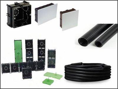 Material eléctrico básico de obra